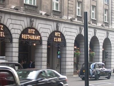 The Ritz Hotel Is Opposite Dover Street