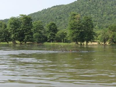 The River Kaveri Around Hogenakkal Falls