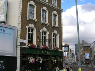 The Ship Public House On Borough Road