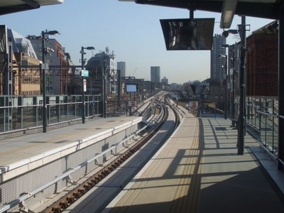 View From The Re-modelled Station