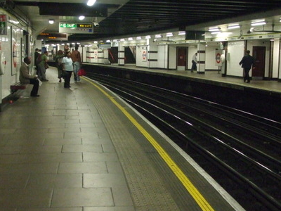 Eastbound Platform Looking East