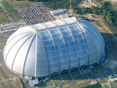 Tropical Islands Dome - Bird's-eye View