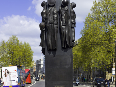 Monument To The Women Of World War II Looking North