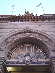 The Main Entrance Of Waterloo Station