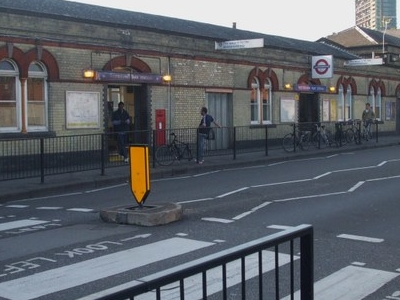 Westbourne Park Tube Station Building