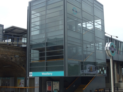 Westferry DLR Station