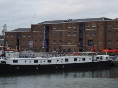 West India Quay With The Museum