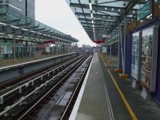 West India Quay DLR Station