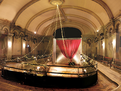 The Auditorium Of Wilton's Music Hall