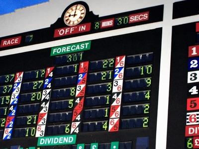 Walthamstow Stadium Scoreboard