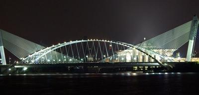 Seri Saujana Bridge By Night