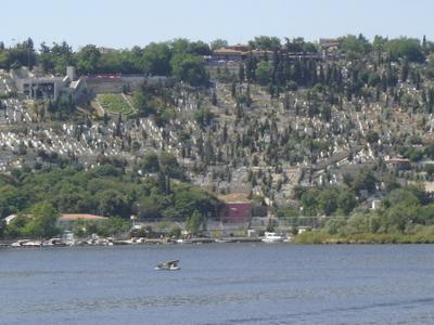 Part Of The Eyüp Cemetery