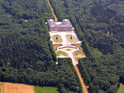 New Palace, Aerial View