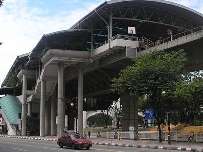 An Exterior View Of The Bandaraya Station Facing Southwest.