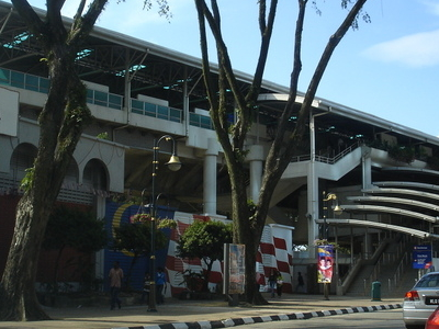 Another Exterior View Of The Bandaraya Station Facing Northwest.