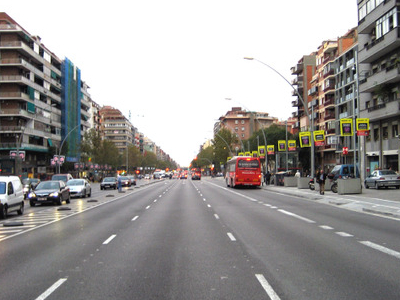 Another View Of The Avinguda Meridiana