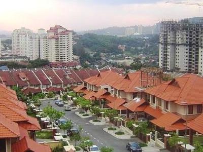 A View Of Taman Tun Amp 1 Utama From Jalan Datuk Sulaiman In Ttdi.