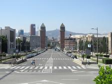 View Towards Plaça D'Espanya