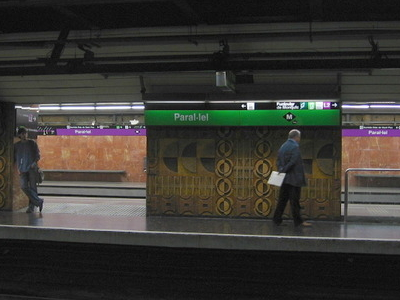 The Platforms For Lines L2 (purple) And L3 (green)