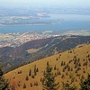 Chiemsee View From The Alps