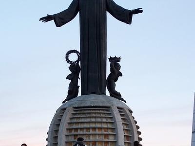 Cristo Rey Mexican Statue