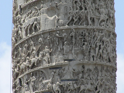 Detail From The Column