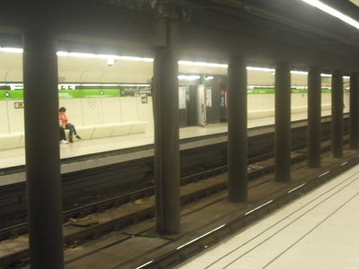 View Of The Platforms