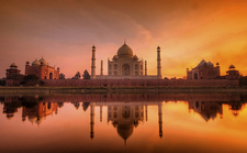 An Evening At The Taj Agra 1 640 480