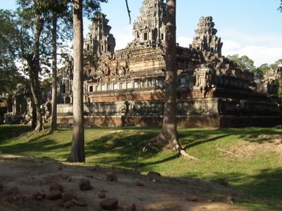 Exterior Of Ta Keo