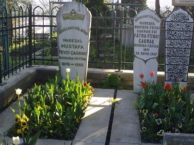 Field Marshal Fevzi Çakmak's Family Grave