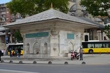 Fountain Of Ahmed III In Üsküdar