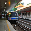 Guandu Station -  Train Arriving