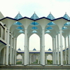 Inside Sultan Salahuddin Mosque