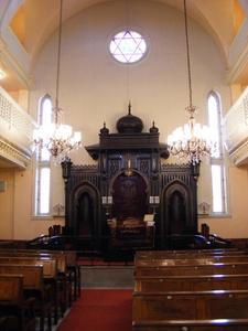Ashkenazi Synagogue Of Istanbul Interior