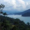 Kenyir Lake With Sourrounding Jungle