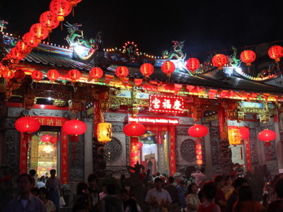 Kheng Hock Keong Temple At 2013 Chinese New Year