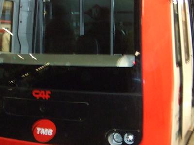 Train At Diagonal TMB Station