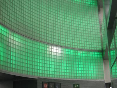 The Backlit Mural