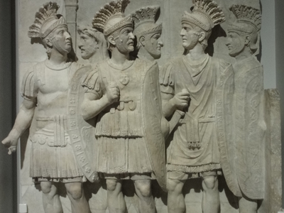 The Praetorians Relief From The Arch Of Claudius