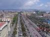 Looking East Along Passeig De Colom
