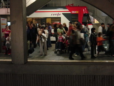 Barcelona Metro Line 1 Station