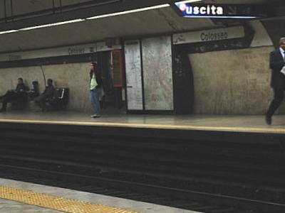 Colosseo Station Platforms