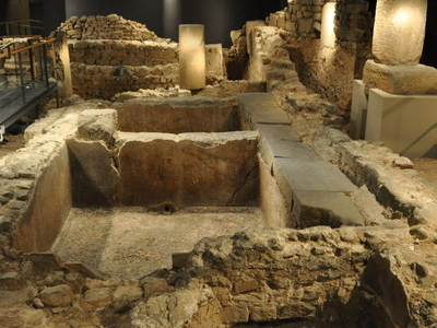 Remains Of An Ancient Roman Salted Fish And Garum Factory