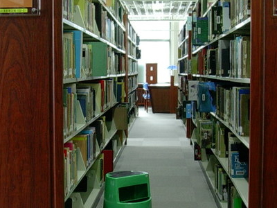 National  Taiwan  Library Shelves