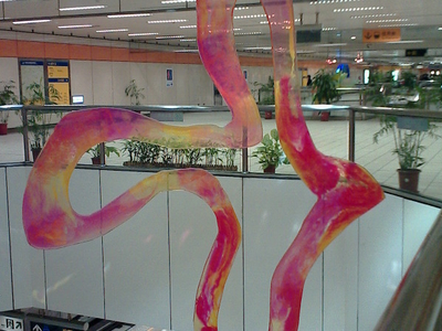 One Of Public Art Prodution In  M R T  Nanshijiao  Station 1