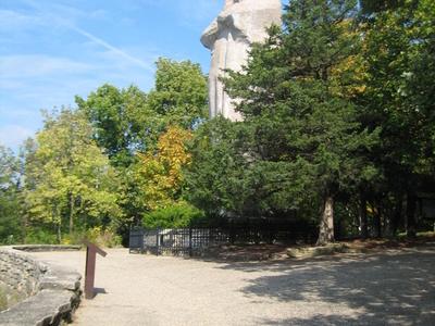 Black Hawk Statue - Lowden State Park