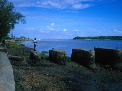 Pangani  River ,Near Town