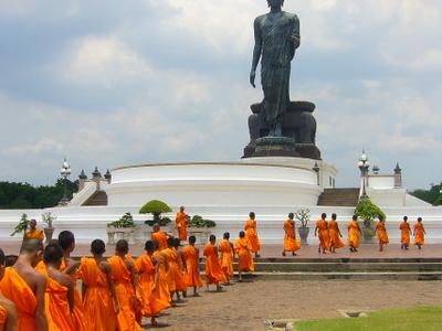Phutthamonthon  Buddha