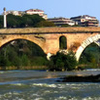 Ponte Milvio Over The Tiber