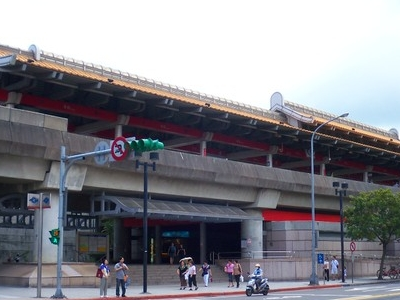 Qiyan Station Exterior